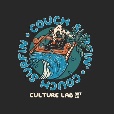Couch Surfin' Hoodie