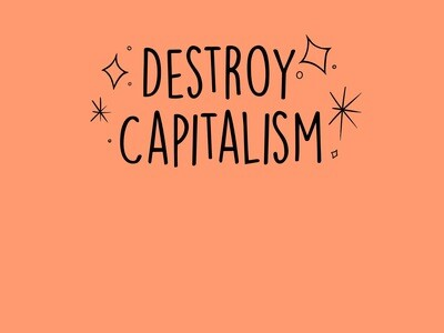 Destroy Capitalism Tee