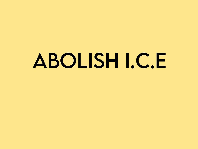 Abolish Ice Tee