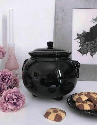 Cauldron Cookie Jar