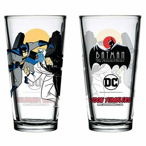 Batman The Animated Series Glass Cups