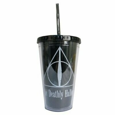 Deathly Hallows Cup With Straw