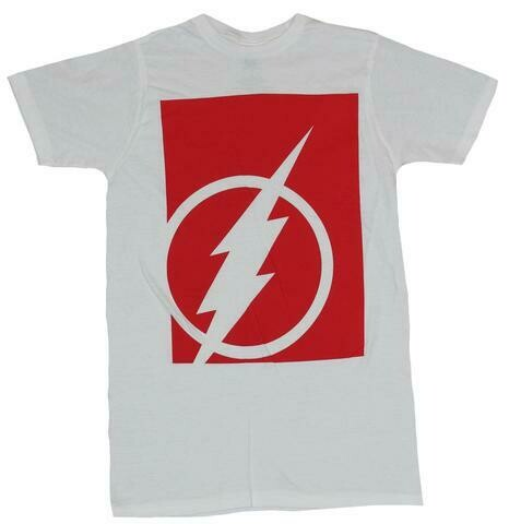 Flash Tee Red/White
