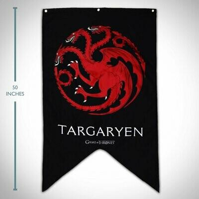 GOT Targaryen Banner