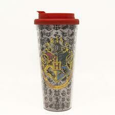 Harry Potter Hogwarts Crest 24 Oz Plastic Travel Mug