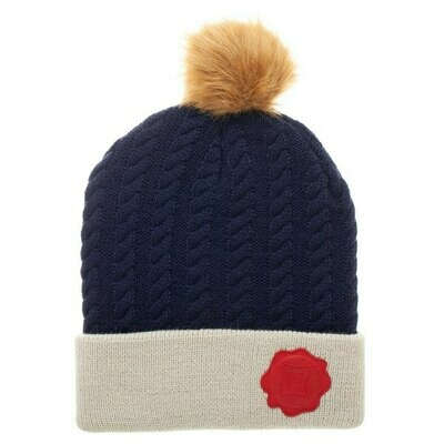 Harry Potter Letter Seal Pom Beanie