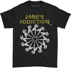 Janes Addiction Lady Wheel Tee