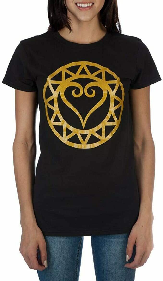 Kingdom Hearts Black And Gold Tee