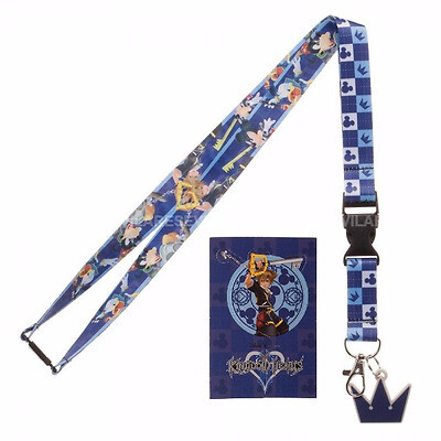 Kingdom Hearts Key Lanyard