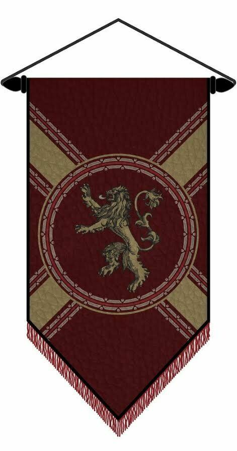 Lannister Felt Banner