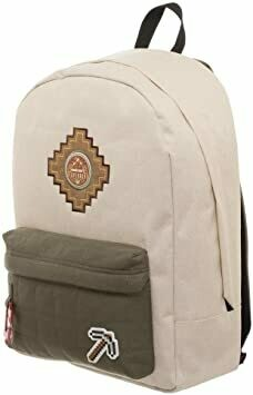Minecraft Beige Backpack