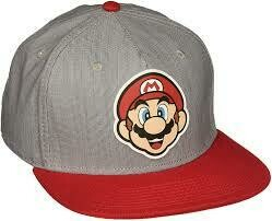 Mario Rubber Emblem Hat
