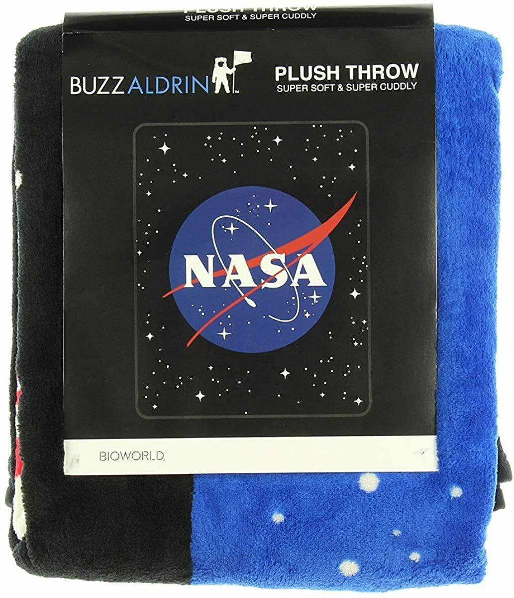 Nasa Plush Throw