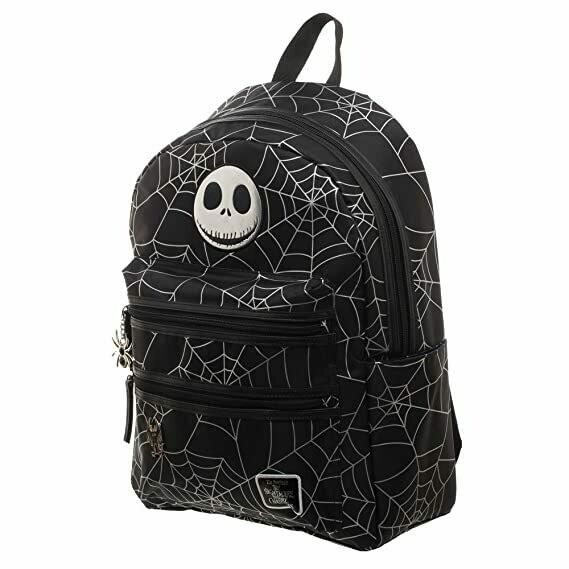 NBC Jack Skellington With Spider Backpack
