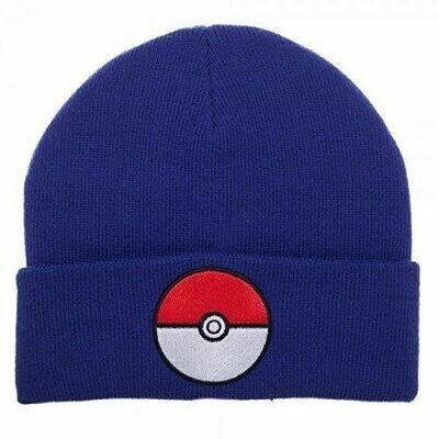 Pokemon Blue Cuff Beanie