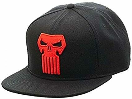 Red Punisher Snapback