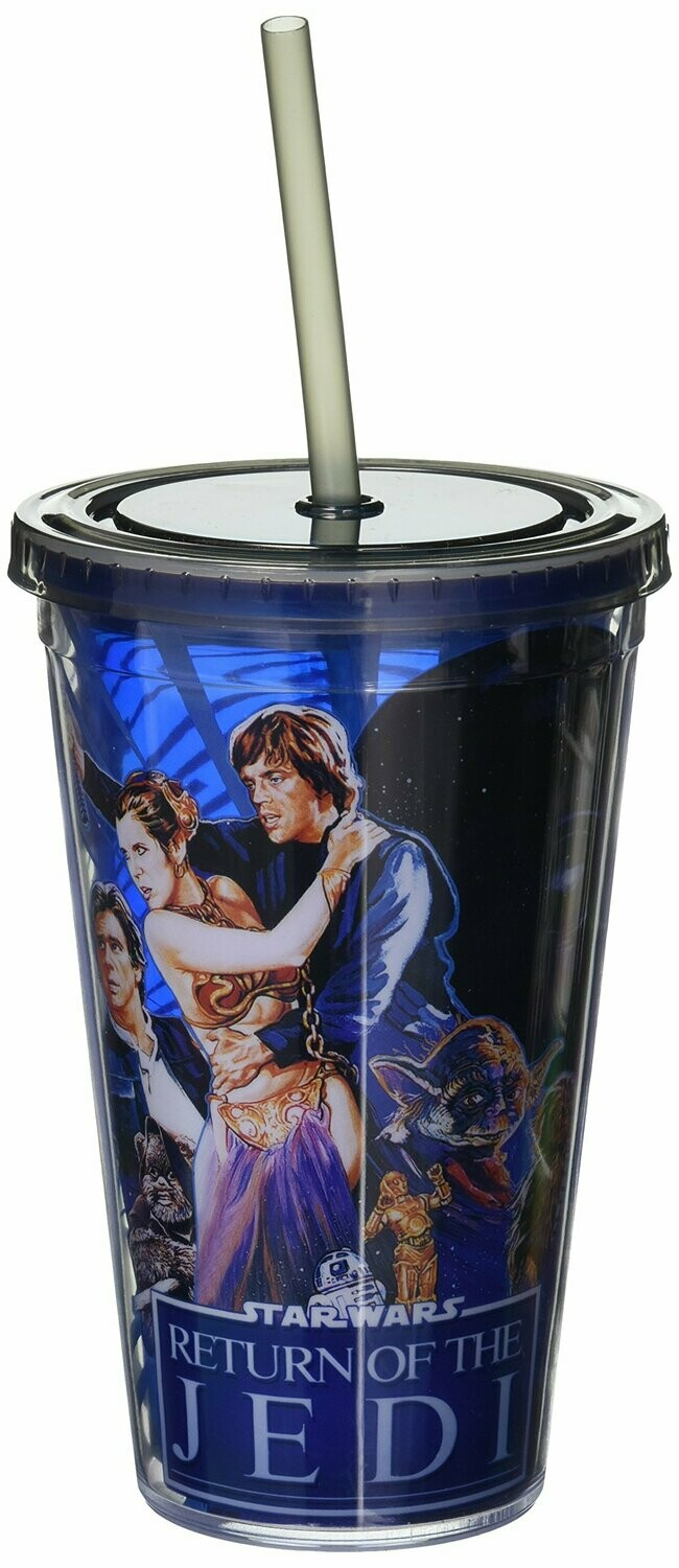 Return Of The Jedi Cup With Straw