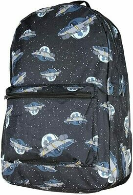 Ricky And Morty Spaceship BackPack