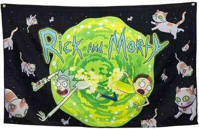 Rick And Morty Portal Banner