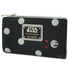 Star Wars Polka Death Star Dot Zip Bi-Fold Wallet