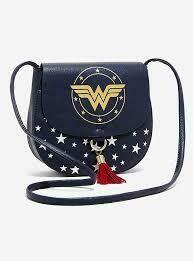 Wonder Woman Saddle Bag