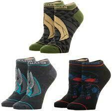 Aquaman Ankle Socks 3 Pack