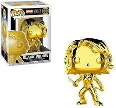 Black Widow Chrome Pop
