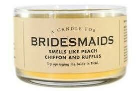 Bridesmaids Candle