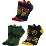 Captain Marvel Ankle Socks