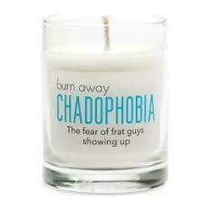 Chadophobia Candle