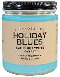 Holiday Blues Candle
