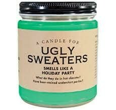 Ugly Sweaters Candle
