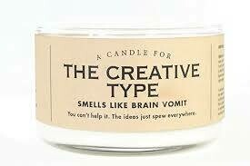 The Creative Type Candle