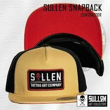 Contractor Snapback Curry/black/red