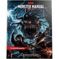 Dungeons And Dragons RPG: Monster Manual