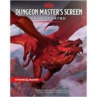 Dungeons And Dragons RPG: Dungeon Masters Screen Reincarnated