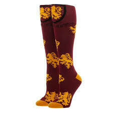 Gryffindor Knee High Socks