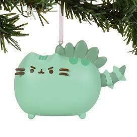Pusheenosaurus Ornament