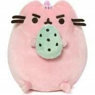 Pusheenosaurus Standing With Egg Cotton Candy,6in
