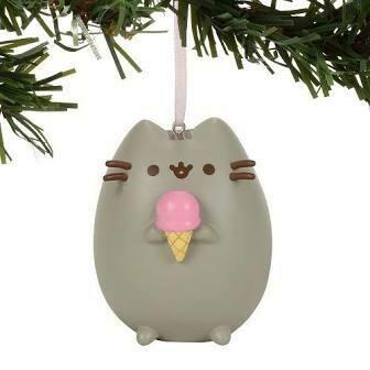 Pusheen Ice Cream Ornament