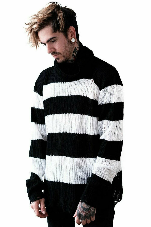 Seven Knit Sweater (White)