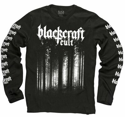 Black Metal Forest Long Sleeve