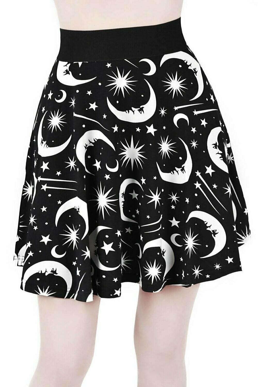 Under The Stars Skater Skirt