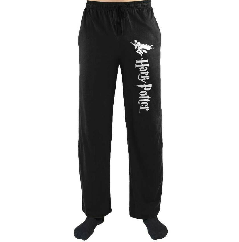 Harry Potter Flying On A Broom Night Pants