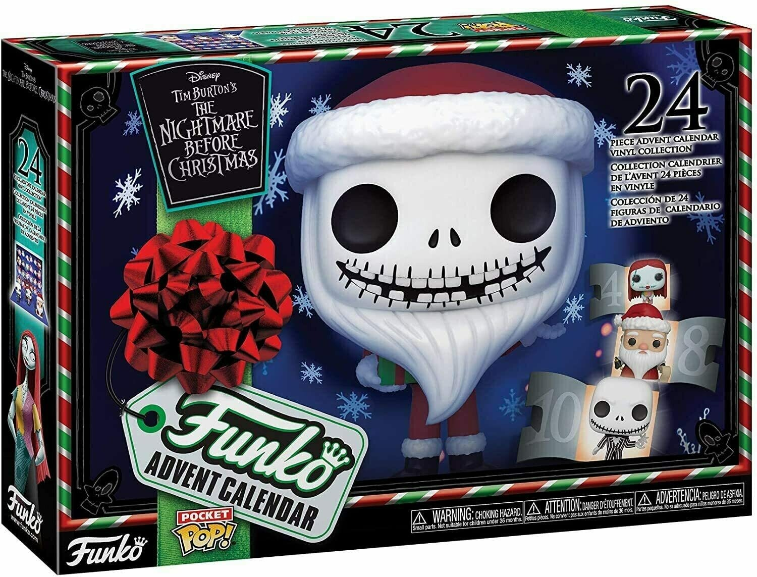 The Nightmare Before Christmas Advent Calender