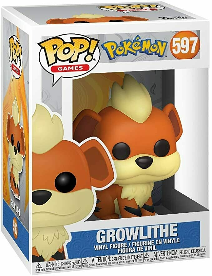 Growlithe Pop! Vinyl Figure