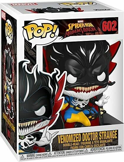 Venomized Doctor Strange Pop
