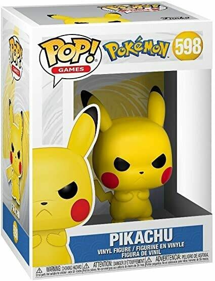 Grumpy Pikachu Pop! Vinyl Figure