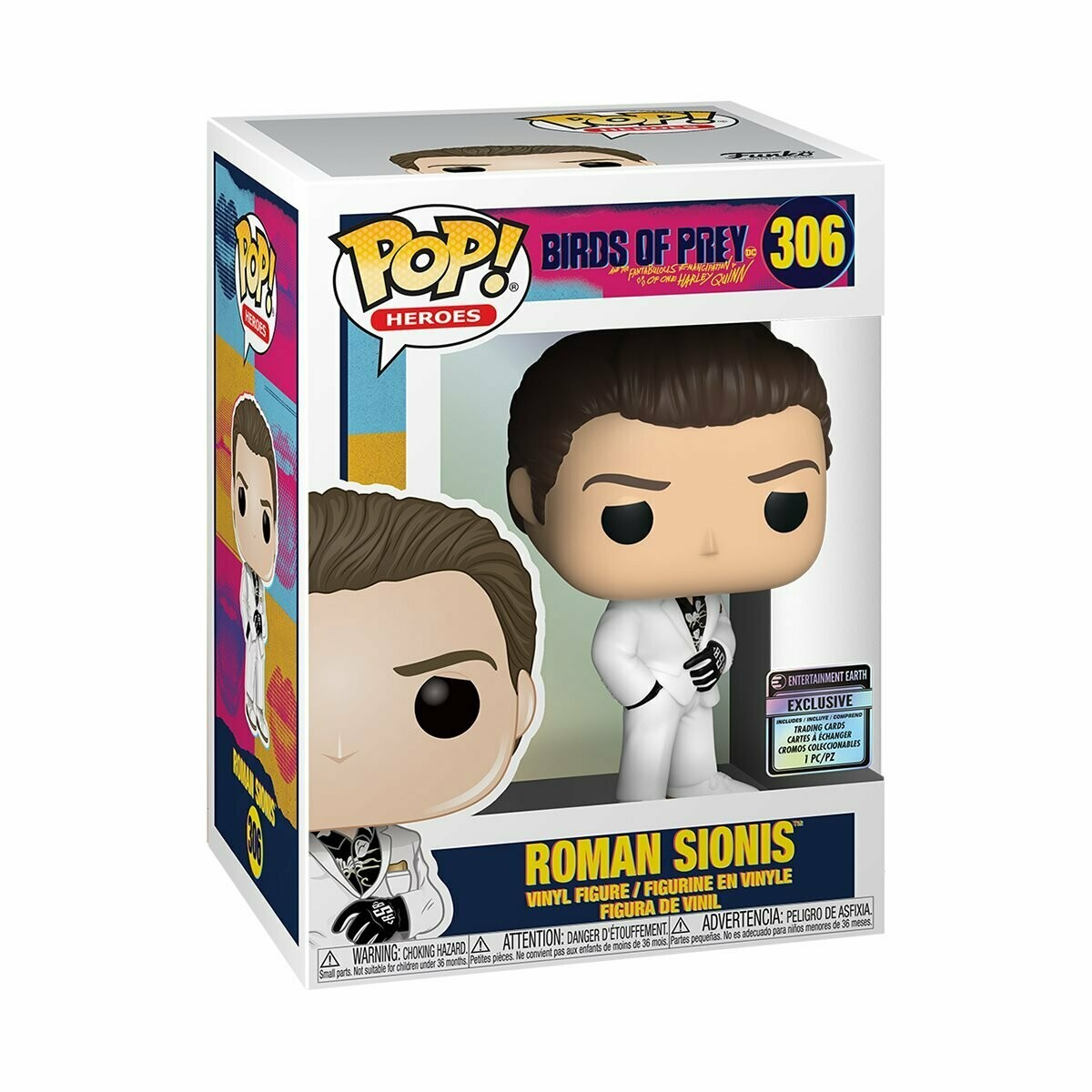 Roman Sionis Pop! & Card EE Excl.