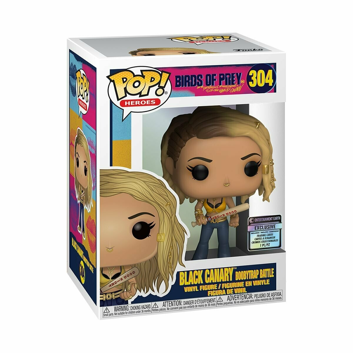 Black Canary Pop! & Card EE Excl.